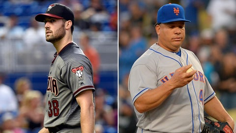D-backs (46-66) at Mets (57-55), 3:30 p.m., FOX Sports Arizona