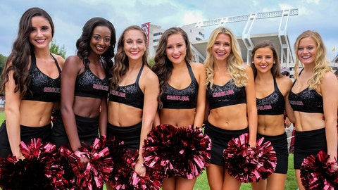 South Carolina cheerleaders