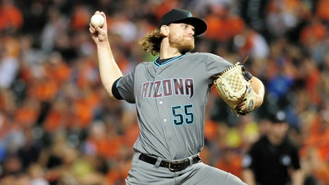 D-backs starting pitcher Matt Koch