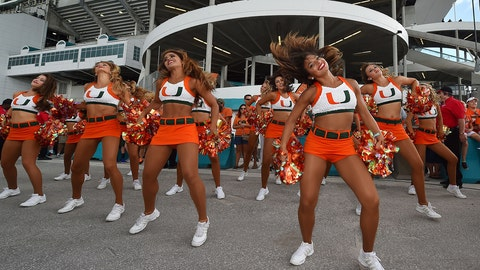 College football cheerleaders: Week 1