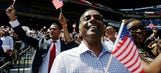 Turner Field hosts naturalization ceremony for more than 1,000