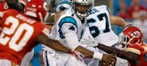 Panthers' Newton encouraged after rusty start to preseason debut