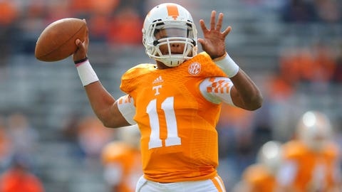 14 -- Joshua Dobbs, Tennessee