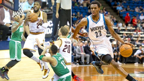 The Timberwolves have never owned the No. 1 draft pick