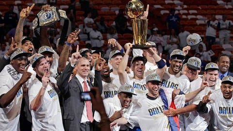 22. 2011 Dallas Mavericks