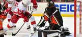 Ducks shut out Red Wings