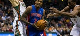 Pistons fall short against Bucks