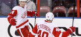 Nyquist lifts Red Wings past Panthers