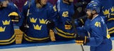Swedes' Zetterberg out for Olympics with back injury