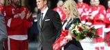 Photos: Lidstrom's No. 5 retirement ceremony