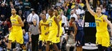 Wolverines fend off Illinois, 64-63, in Big Ten tournament opener