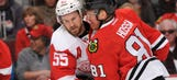 Wings' playoff hopes take hit in Chicago