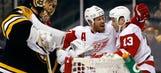 Howard, Datsyuk lead way as Wings steal Game 1 in Boston
