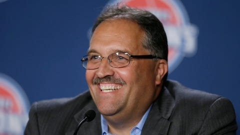 Stan Van Gundy takes over the Pistons