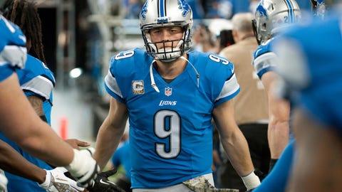 Lions QB Matthew Stafford, $17.7 million