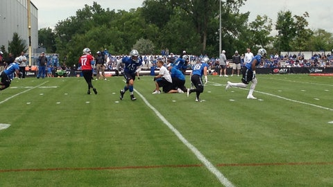 Detroit Lions training camp Day 1