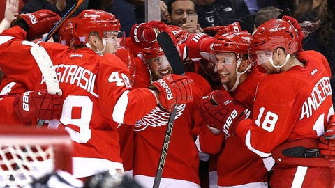 Wings find way to be Penguins in OT
