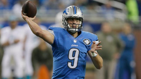 Stafford leads Lions to another win at the wire