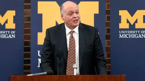 Michigan interim AD attempts culture change
