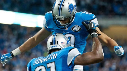 Johnson returns to form as Lions gobble up Bears