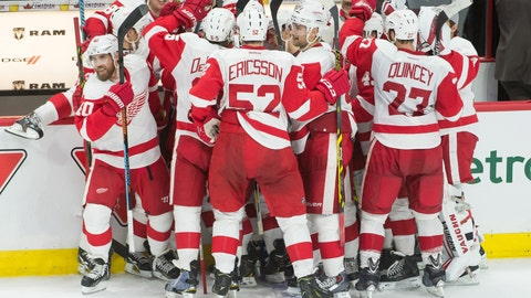 Gave: Wings hit road with chance to prove they belong among leaders