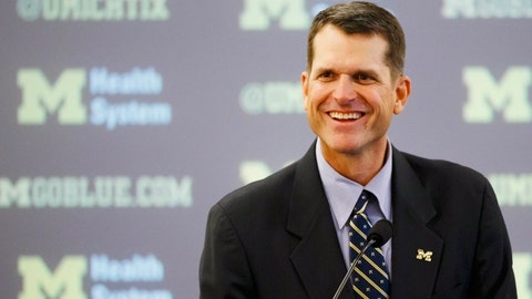 Harbaugh has work cut out for him in first year with Wolverines
