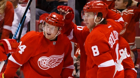 Goaltending, special teams lead Red Wings past Islanders