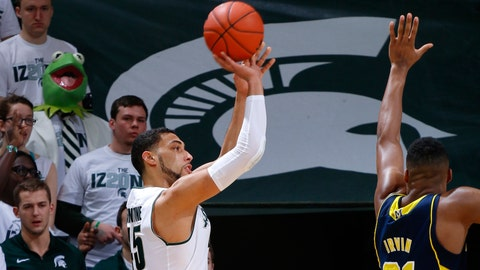 MSU shuts out Michigan in OT, beats Wolverines 76-66