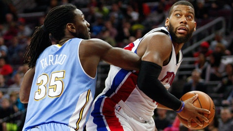 Monroe, Drummond lead Pistons past Nuggets