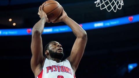 Shorthanded Pistons show grit in win over Hawks