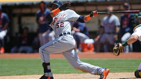 Cespedes' home run helps Tigers top A's