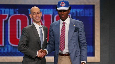 Pistons take Arizona's Johnson with No. 8 pick in draft