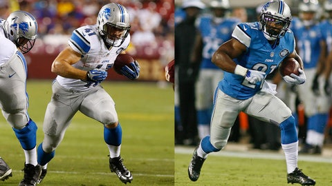 Who will take over in Detroit's backfield?
