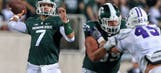 Spartans scuffling at quarterback during six-game skid