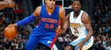Tobias Harris leads Pistons to first road victory