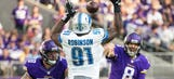 Robinson knocking down passes for NFC North-leading Lions