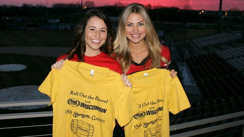 The FOX Sports Wisconsin Girls kicked off their media tour before sunrise.
