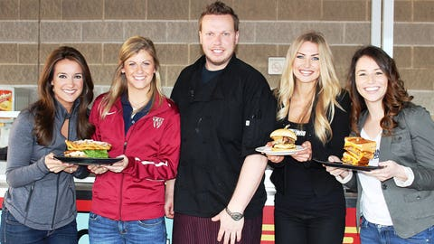 Baseball and tailgating go hand-in-hand. The FOX Sports Wisconsin Girls sampled some of the new additions to the Timber Rattlers grill.