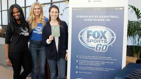 The Milwaukee Bucks are playoff bound & the FOX Sports Wisconsin Girls want to ensure you catch all the games with the FOX Sports GO app.