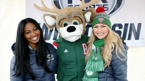 Bango told the FOX Sports Wisconsin Girls that the Bucks are going to win tonight. Tune in at 6:00pm to see if he's right…
