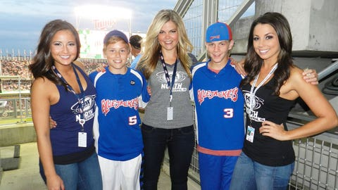 The FOX Sports North Girls hosted a suite night for Twins fans at Target Field.