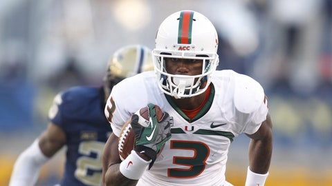 3. WR Stacy Coley, So.