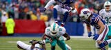 Dolphins' playoff hopes take hit in shutout loss to Bills