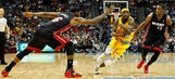 Heat hold off Nuggets to end road trip with win