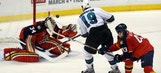 Panthers fall to Sharks 3-0