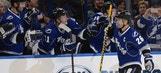Lightning winger Martin St. Louis named NHL first star