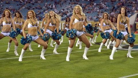 Jaguars cheerleaders