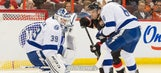 Ben Bishop goes down as Lightning fall on road to Senators
