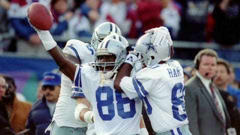 Wide receiver: Michael Irvin