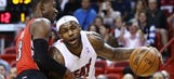 LeBron James leads way as Heat beat Raptors at home